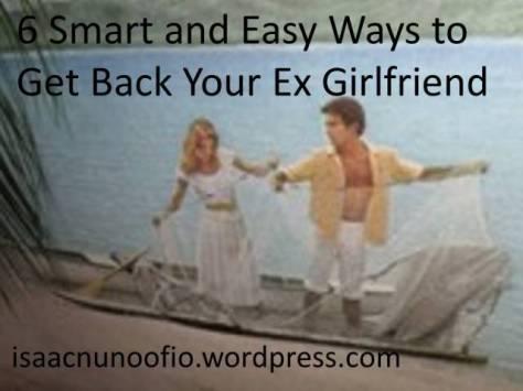 get back your ex girlfriend